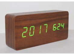 Настольные часы ART-862W Коричневый (200661)