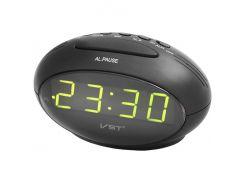 Часы настольные VST 711-2 Черные (KD-2961S135)