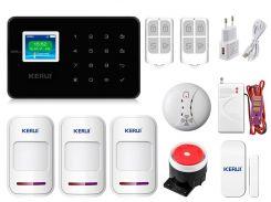 Комплект сигнализации Kerui G18 Pro для 2-комнатной квартиры Черная (g18 pro2 black)