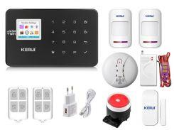 Комплект сигнализации Kerui Wi-Fi W18 Pro для 1-комнатной квартиры Черная (w18 pro black)