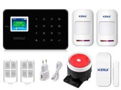 Комплект сигнализации Kerui G18 для 1-комнатной квартиры Черная (g18 1 black)