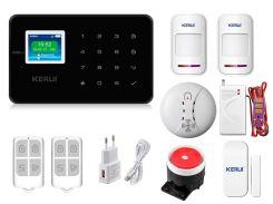 Комплект сигнализации Kerui G18 Pro для 1-комнатной квартиры Черная (g18 pro 1 black)