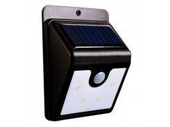 Фонарь на солнечной батарее с датчиком движения UTM Ever Brite LED Черный (2126)