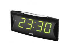 Часы сетевые VST 719-2 Зеленые (KD-1043S200)