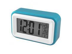Часы электронные настольные Atima AT-608 Синий (KD-5752S97)