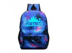 Рюкзак TEAMWIN Водонепроницаемый с люминесцентной надписью Fortnite Космос (F731T)
