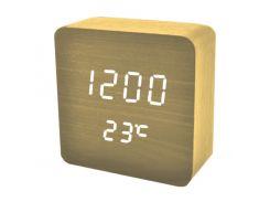 Часы сетевые VST 872-6 Коричневые (KD-59602S203)