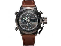 Часы наручные AMST AM3003-1 Brown/Black (KD-06241S378)