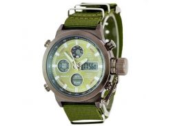 Часы наручные AMST AM3003-3 Military/Green (KD-06237S378)