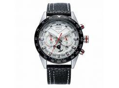 Часы наручные AMST AM3021-1 Black/White (KD-06249S459)
