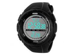 Часы наручные Skmei 1025 Черные (KD-06026S162)