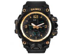 Часы наручные Skmei 1155 Gold (KD-06025S211)