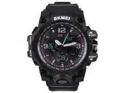 Часы наручные Skmei 1155 Black (KD-060252S211)