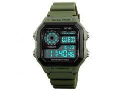 Часы наручные Skmei 1299 Зеленые (KD-06028S162)