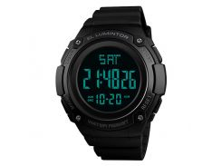 Часы наручные Skmei 1346 Черные (KD-06029S162)