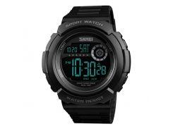 Часы наручные Skmei  1367 Черные (KD-06030S162)
