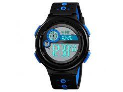 Часы наручные Skmei 1374 Черно-синие (KD-06012S184)
