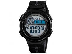 Часы наручные Skmei 1374 Черно-серые (KD-06011S184)