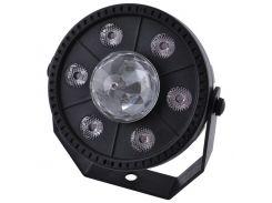Лазер диско Bailong QY-PAL069 9LED RGB 220V (KD-5993S176)