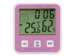 Термометр с гигрометром HTC DC-107 Pink (KD-3140S108)