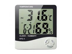 Термометр с гигрометром Digital HTC -1 Белый (KD-1476S100)