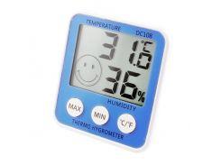 Термометр с гигрометром HTC DC-108 Blue (KD-35811S31)