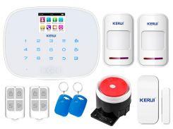 Комплект сигнализации Kerui G19 для 1-комнатной квартиры Белый (g19 1 white)