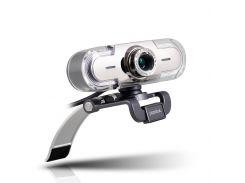 Веб-камера Papalook USB 1080P Full HD с микрофоном Серебристый (29261)