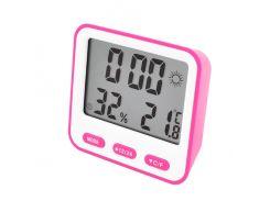 Термометр с гигрометром Max 854 Pink (KD-5124S108)