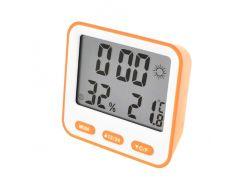 Термометр с гигрометром Max 854 Orange (KD-51242S108)