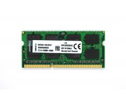 Оперативная память Kingston SODIMM DDR3-1333 4096MB PC3-10600 (KVR1333D3S9/4G)