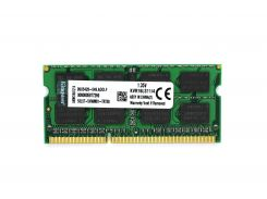 Оперативная память Kingston SODIMM DDR3L-1600 4Gb PC3-12800 (KVR16LS11/4) (1.35V)