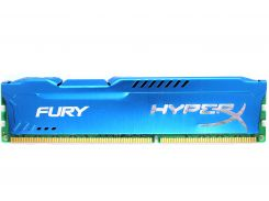 Оперативная память Kingston HyperX FURY DDR3-1600 8192MB PC3-12800 Blue (HX316C10F/8)
