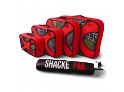 Дорожный органайзер для путешествий Shacke Pack 5 шт Красный (SP006)