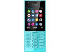 мобильный телефон nokia 216 dual blue (2137910)