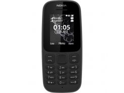Nokia 105 Single Sim New A00028356 Black