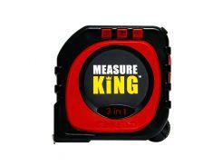 Универсальная рулетка Measure King 3 в 1 Черно-красный (1768)