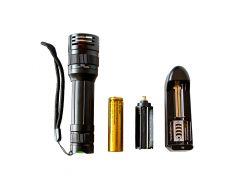 Ручной светодиодный фонарь с 1 режимом (2023)