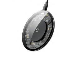 Беспроводное зарядное устройство Baseus Simple Crystal Black (AL2491)