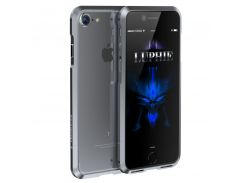 Бампер Luphie Aviation для iPhone 7/8 Plus Grey