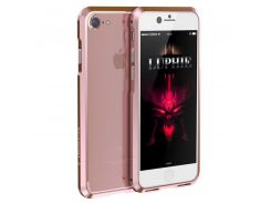 Бампер Luphie Aviation для iPhone 7/8 Plus Rose Gold