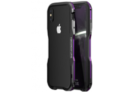 Бампер Luphie Ultra Luxury для iPhone X/Xs Black/Purple