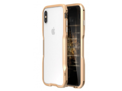 Бампер Luphie Ultra Luxury для iPhone X/Xs Gold