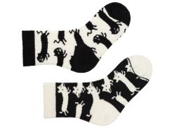 Детские носки Sammy Icon Bicker 12-24 месяцев Черно-белые (009106)