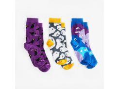 Детские носки Dodo Socks Babaiko 7-10 лет набор 3 пары (009686)