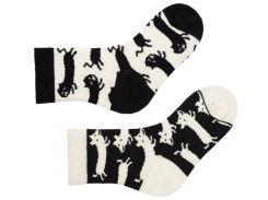 Носки детские Sammy Icon Bicker 2-3 года Черно-белые (009107)