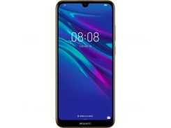 Huawei Y5 2019 Brown Faux Leather 51093SHE (9707892)