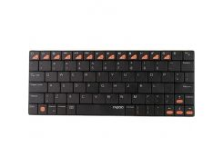 Bluetooth клавиатура Rapoo BT Ultra-slim Keyboard for iPad E6300 Black (1927418)