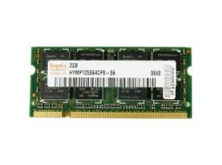 Оперативная память для ноутбука SoDIMM DDR2 2GB 800 MHz Hynix HYMP125S64CP8-S6 / HMP125S6EFR8C-S6 (4690989)