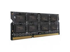 Оперативная память для ноутбука SoDIMM DDR3L 2GB 1600 MHz Team TED3L2G1600C11-S01 (4977005)